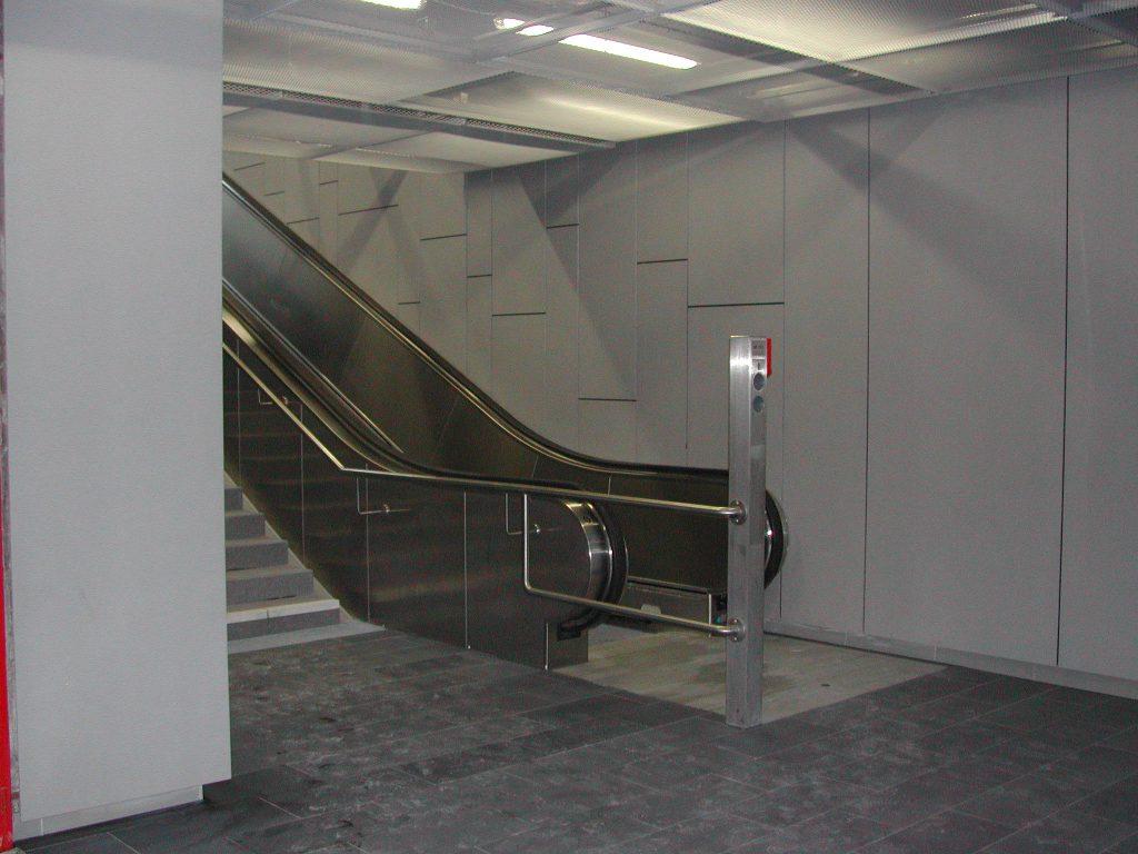 U-Bahn Anlage mit Rieder Beton